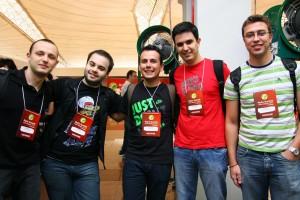 Jony, Herval, Leozera, Eu e RicardoK