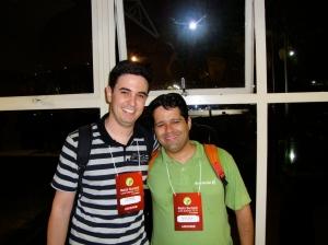 Eu e Vinicius Teles